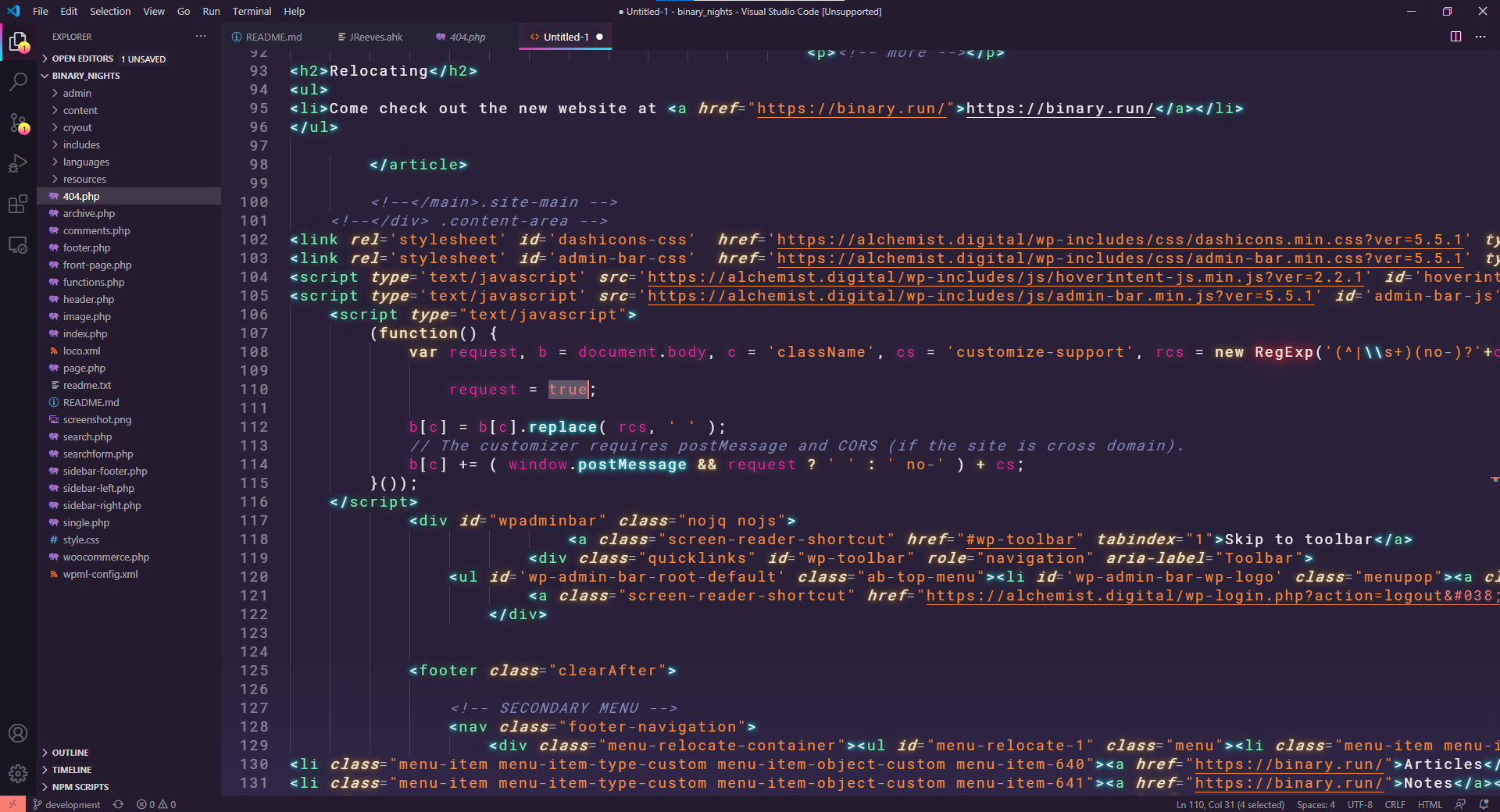 VSCode Synthwave 84 Theme